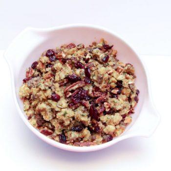 Cranberry Sausage Pecan Stuffing