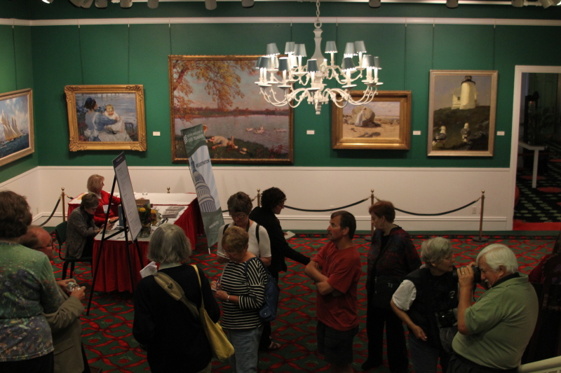 Manoogian Art Gallery in the Grand Hotel on Mackinac Island