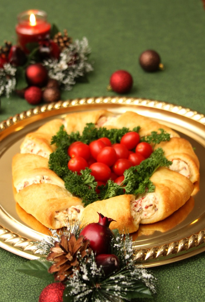 christmas wreath appetizer recipe