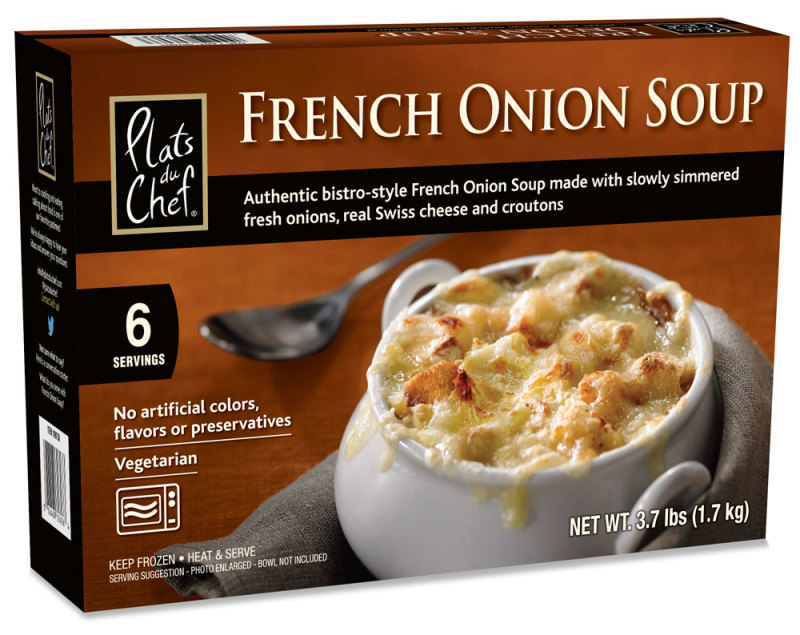 The French Onion soup is just a nice addition to any holiday table. I ...