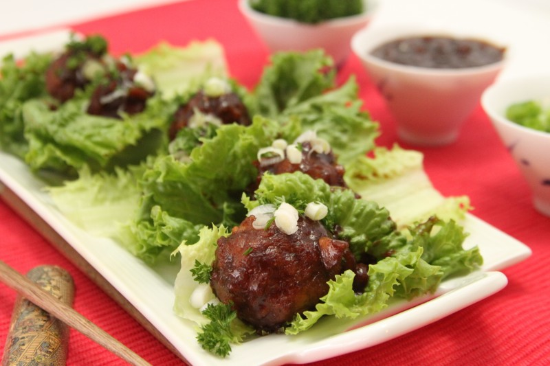Asian Lettuce Wraps are a great easy to make a meal using Johnsonville Meatballs as your protein. This amazing sauce and low-carb snack is a favorite here!