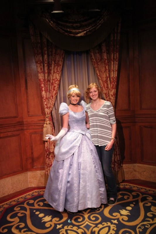 Cinderella at Magic Kingdom