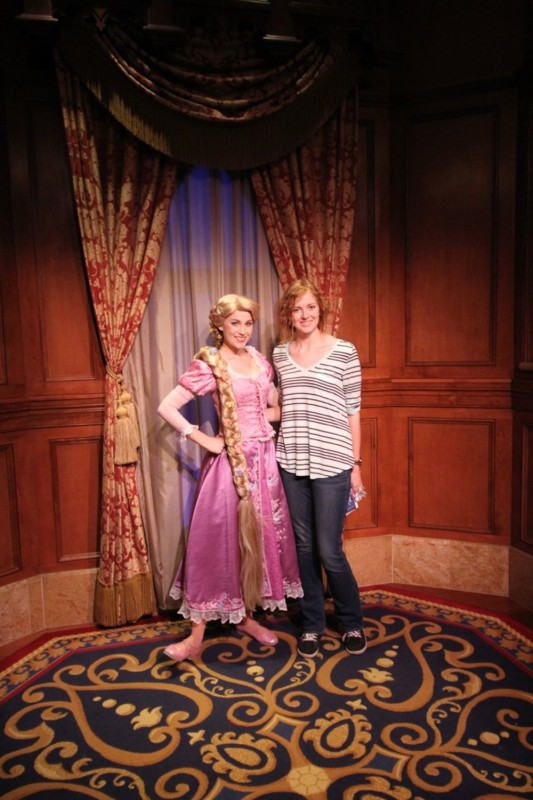 rapunzel at magic kingdom