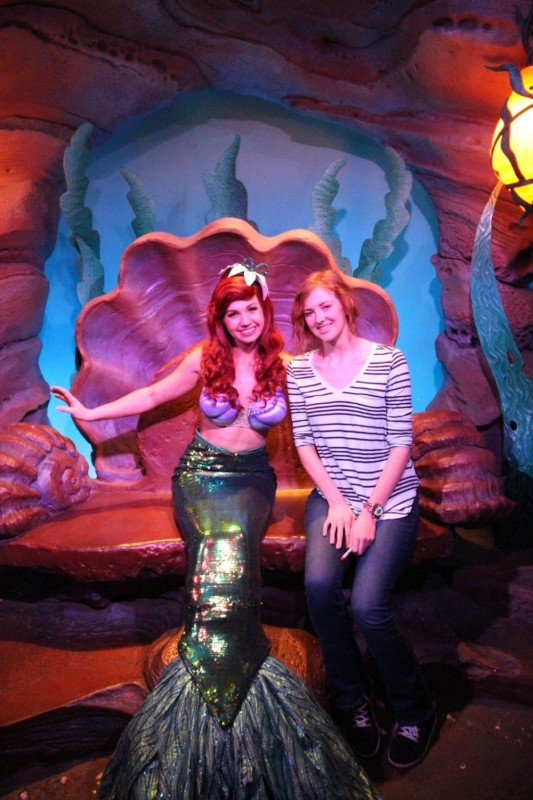 Ariel at Magic Kingdom
