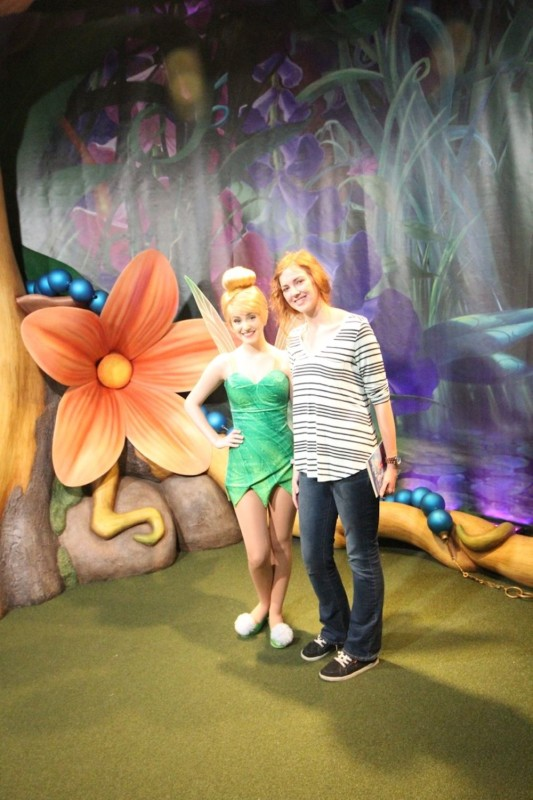tinker bell magic kingdom
