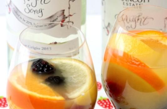 Flight Song Wine Cocktail Recipe #FlightSongResolutions