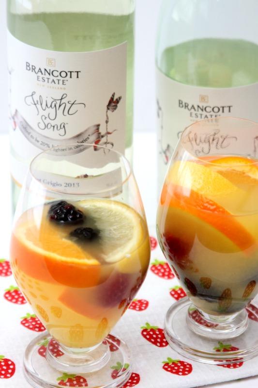 brancott estate flight song wine cocktail