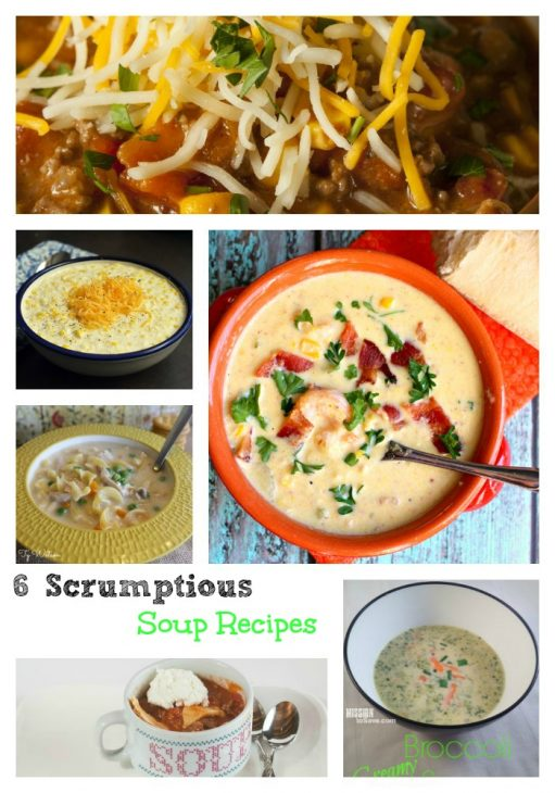 6 soup recipes