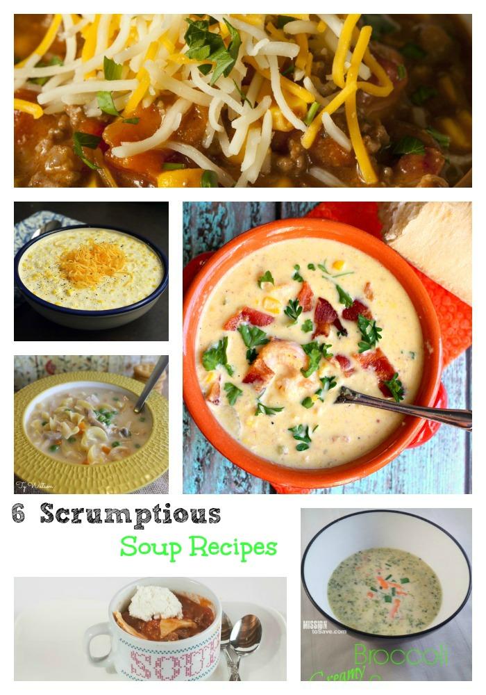 6 soup recipes
