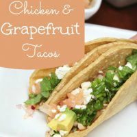 Chicken and Grapefruit Tacos Recipe