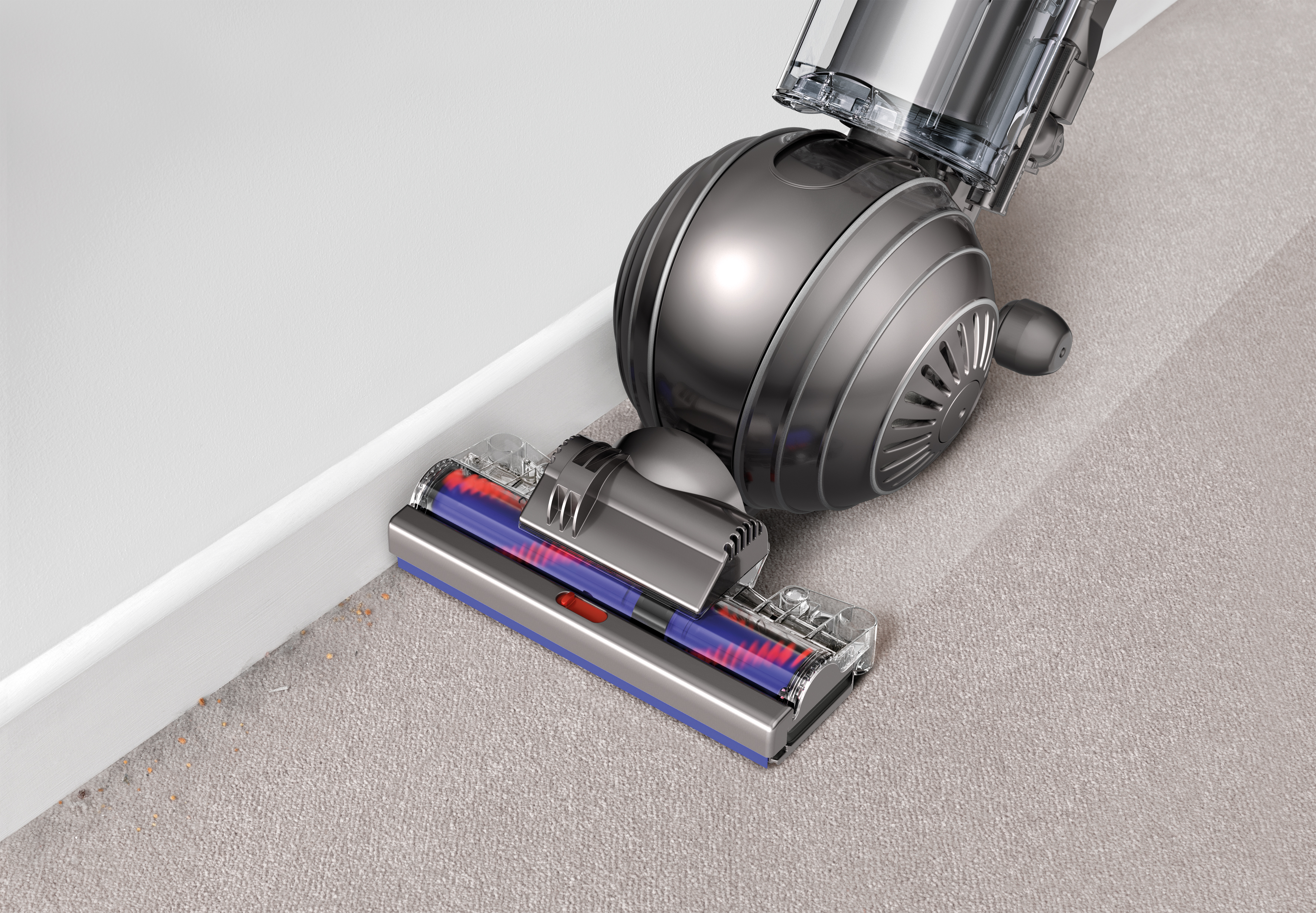 i put the vacuum to the test throughout the house and it works like a champ multiple attachments makes it easy to vacuum ceilings furniture stairs - Dyson Cinetic