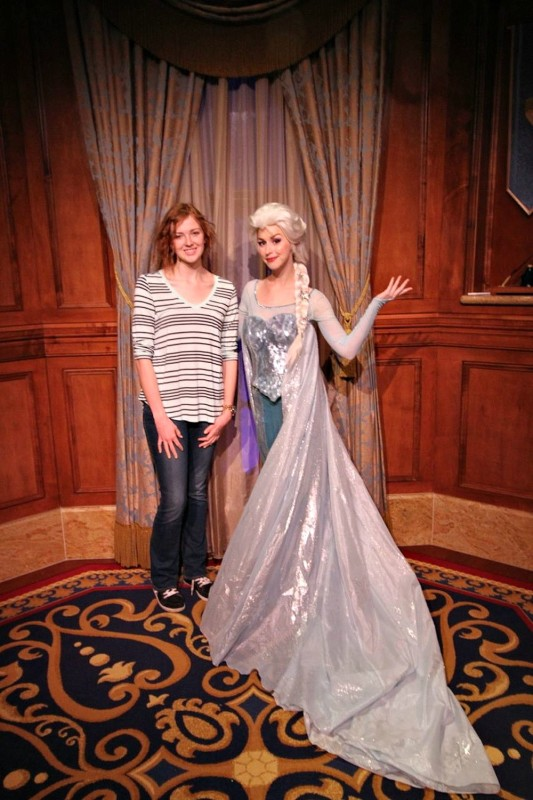 Elsa at Magic Kingdom