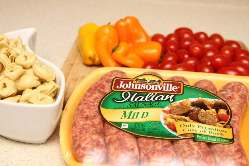 Sausage & Tomato Skillet