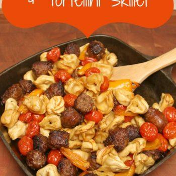 Johnsonville Sausage & Tortellini Skillet