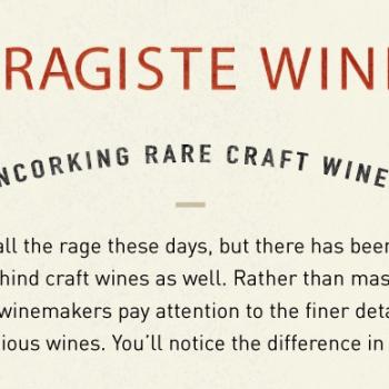 garagiste wine