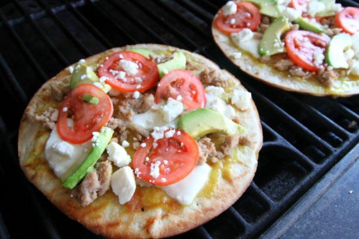 Turkey Avocado Pizza Recipe