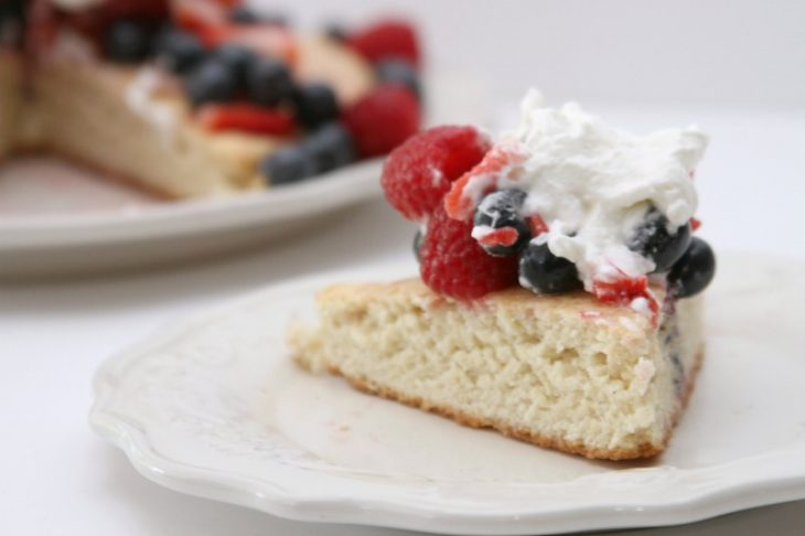 Fruit Cornmeal Shortcake