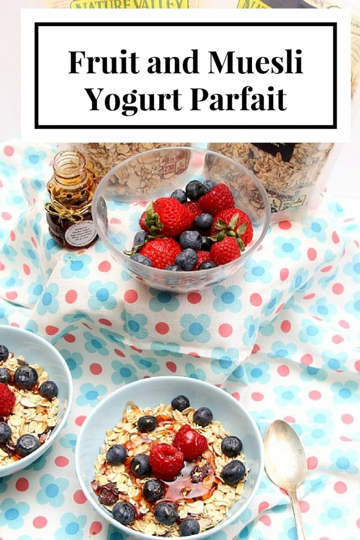 start your morning right with this yogurt parfait