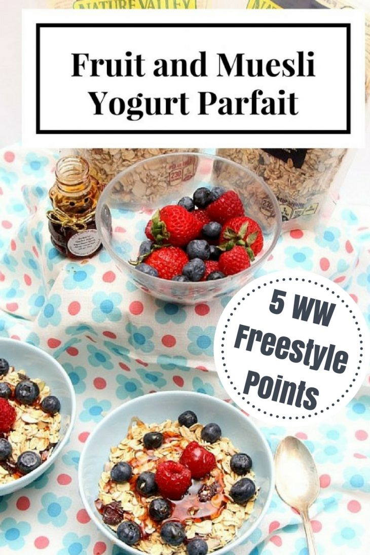 delicious and easy to make yogurt parfait