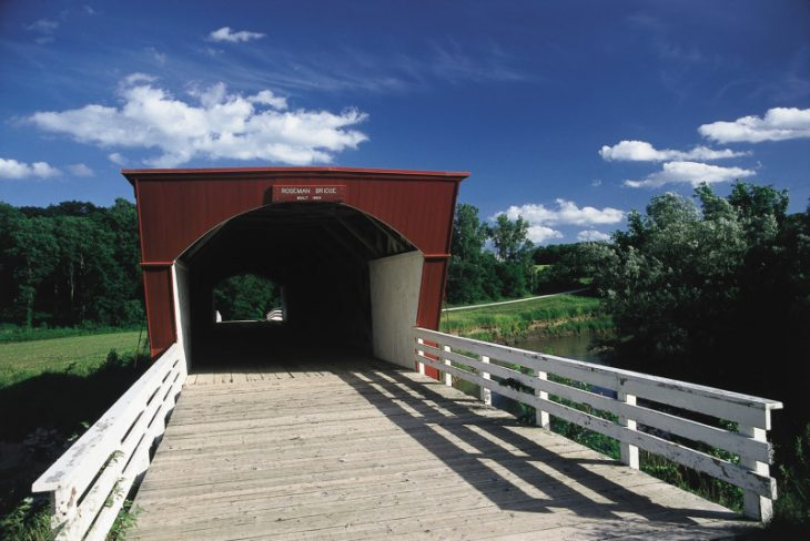 haunted covered bridge iowa