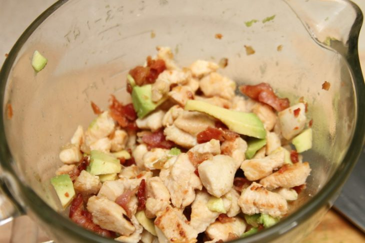 Bacon Chicken Avocado Ranch