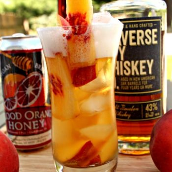 Georgia on my Mind Peach Cocktail Recipe