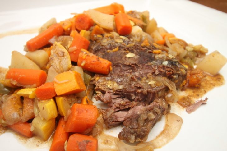 pot roast and vegetables recipe
