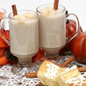 Lactose Free Pumpkin Pie Spice Latte