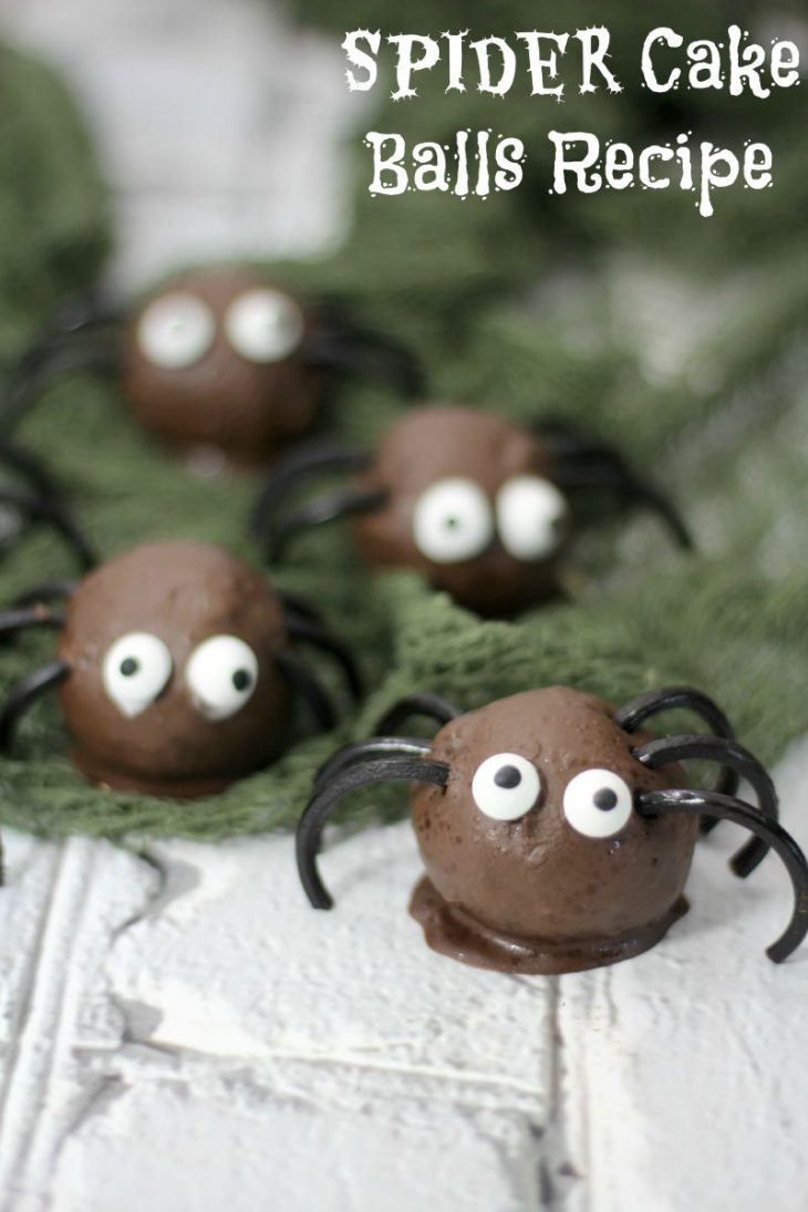 spiders cake balls title