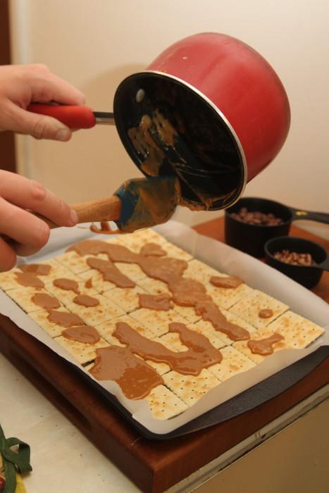 caramel brittle
