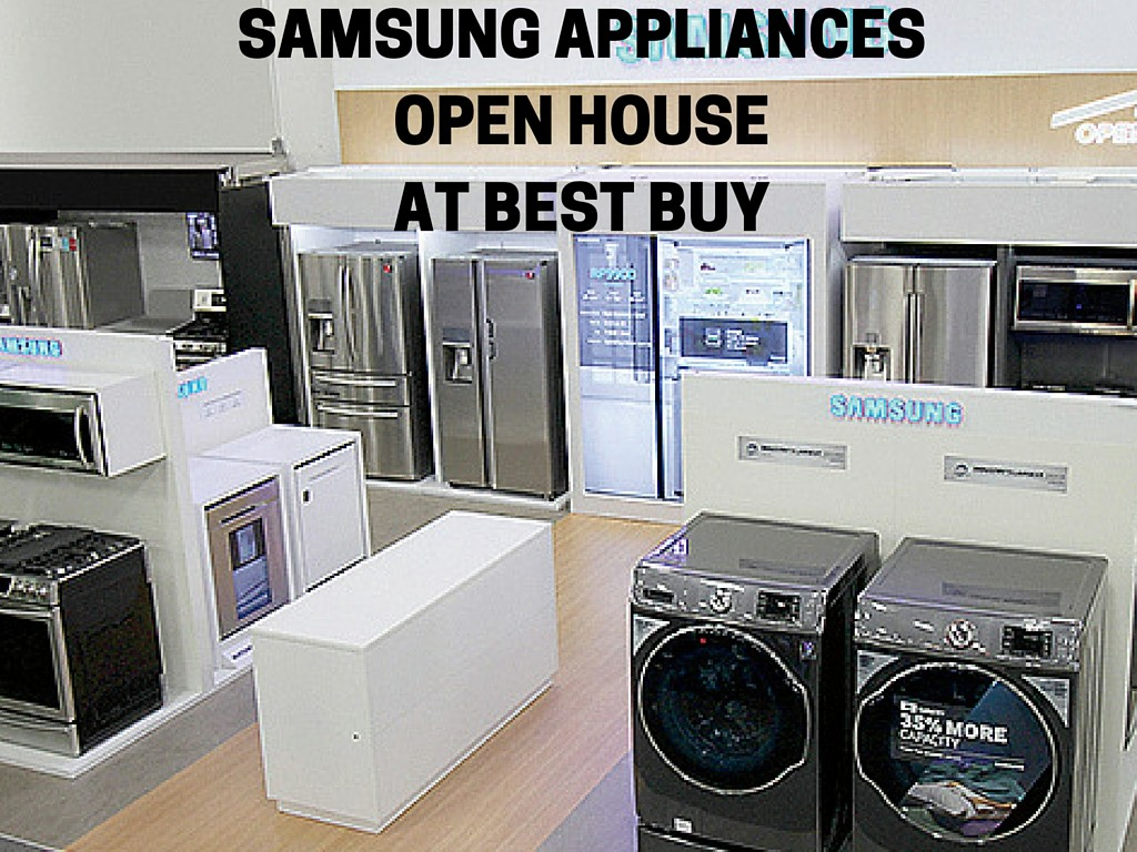 Samsung Appliances Open House At Best Buy Just Short Of