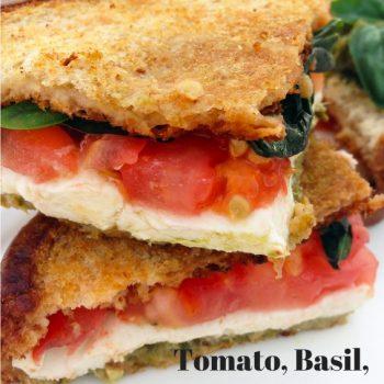 Tomato, Basil, Mozzarella & Pesto
