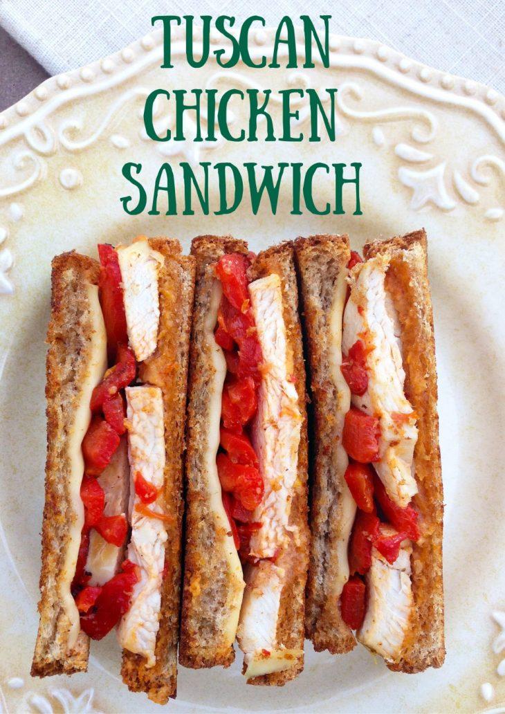 Tuscan Chicken Sandwich
