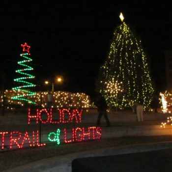 holiday trail of lights