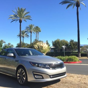 Exploring the San Jacinto Valley in the Kia Optima SX