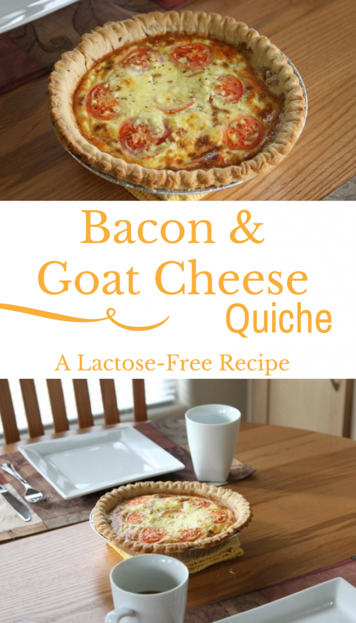 Bacon & Goat Cheese Quiche