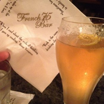 French 75 Cocktail Recipe + Free NOLA Mardi Gras Museum