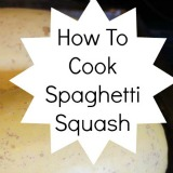 How to cook spaghetti squash and ways to serve it