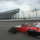 Take a spin around one of the world's greatest speedways the Indianapolis Motor Speedway