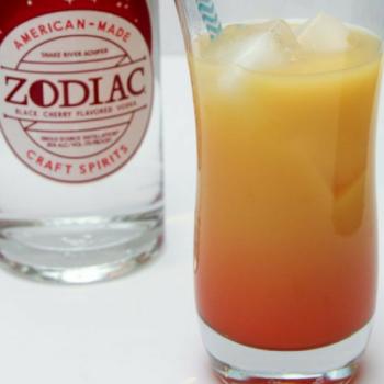 Zodiak Sunset Cocktail