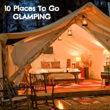 Take your camping up a notch with glamping