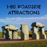 Fun roadside attractions along I-80