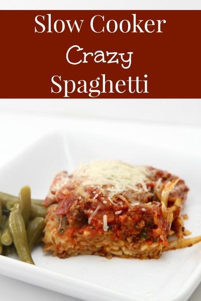 slow cooker spaghetti recipe even though spaghetti as a rule is ...
