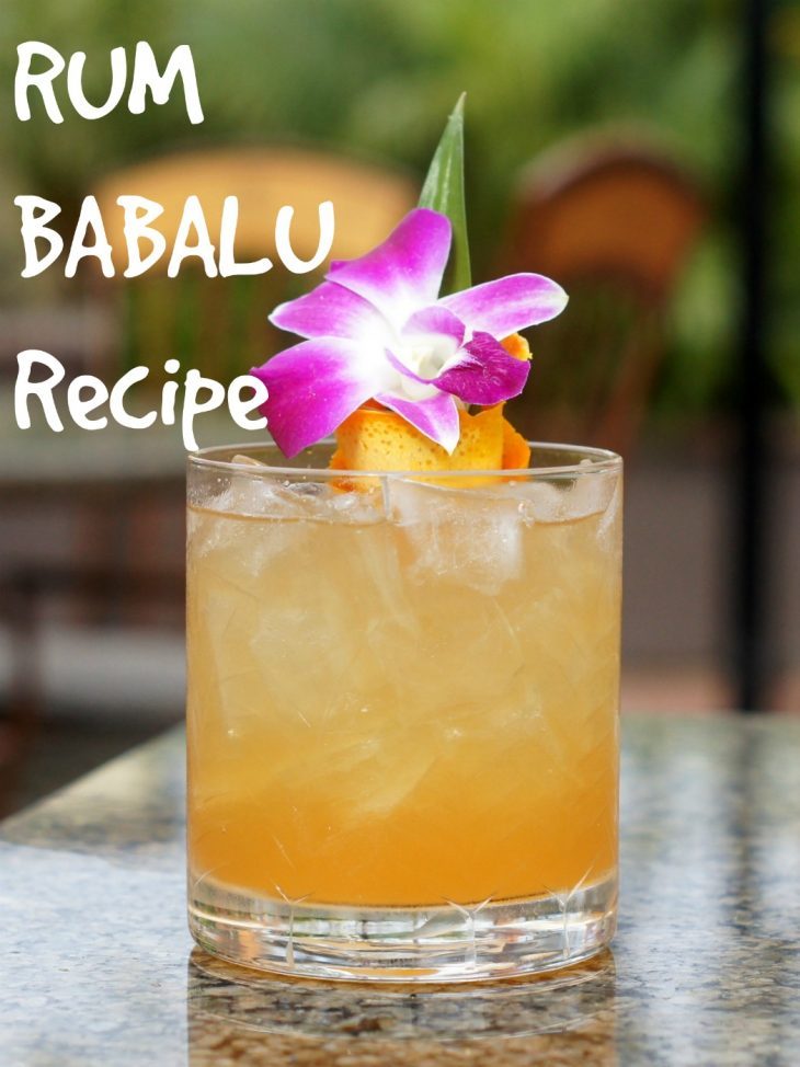 Rum Babalu Cocktail