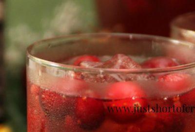 Cran Raspberry Whiskey cocktail