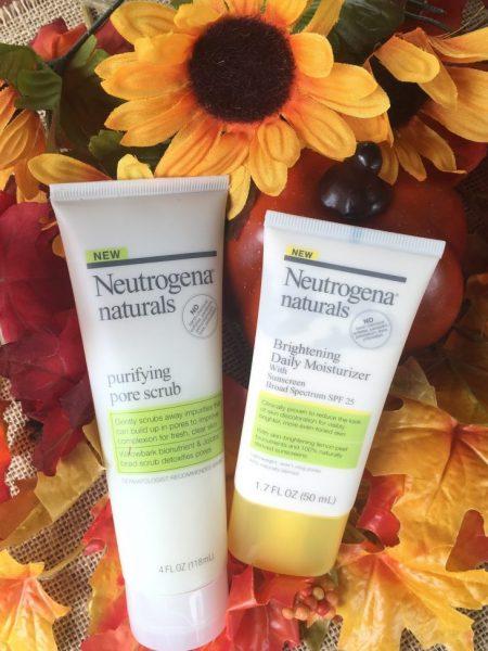 Neutrogena® Naturals Brightening Moisturizer.