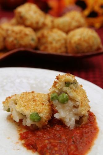 risotto-balls