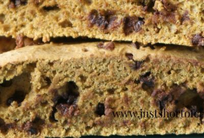 Pumpkin Chocolate Biscotti