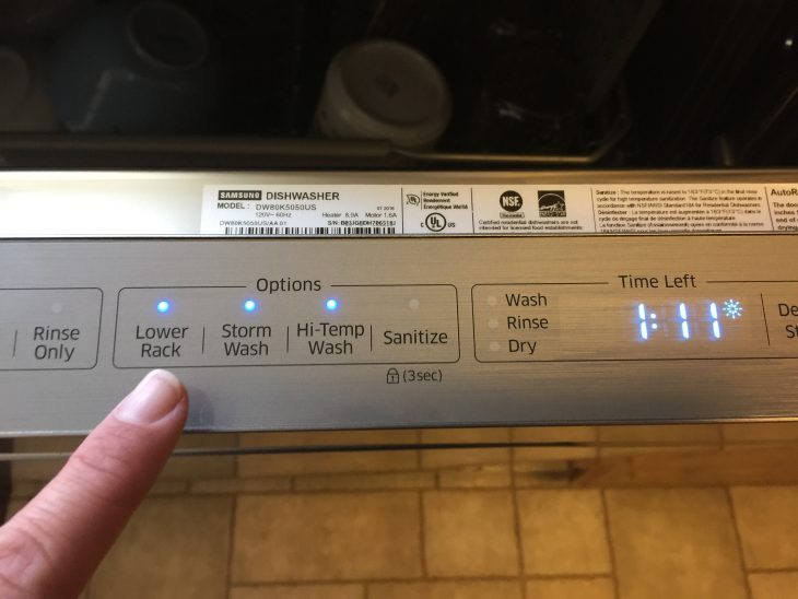 Just In Time For The Holidays: Samsung StormWash Dishwasher