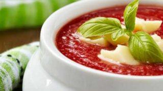 Parmesan Tomato Basil Soup